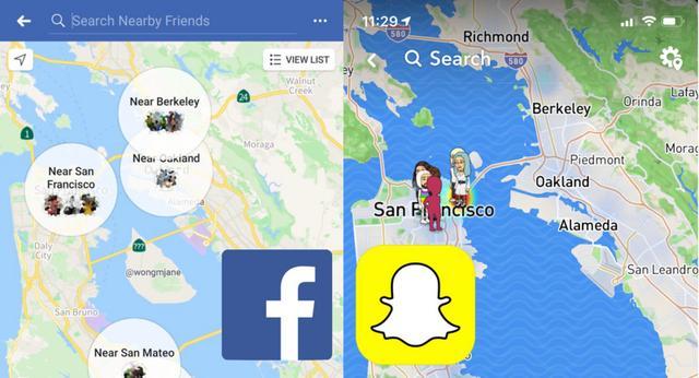 """对标 Snap Map,Facebook 基于地图重新设计""""附近的朋友"""""""